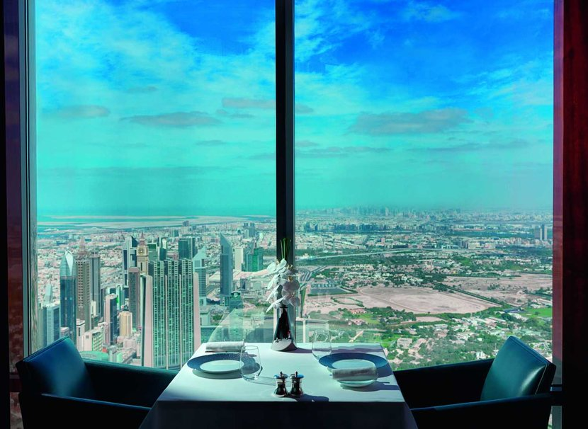 At.Mosphere is currently on the 122nd floor of the Burj Khalifa. The new venue will be on floor 152