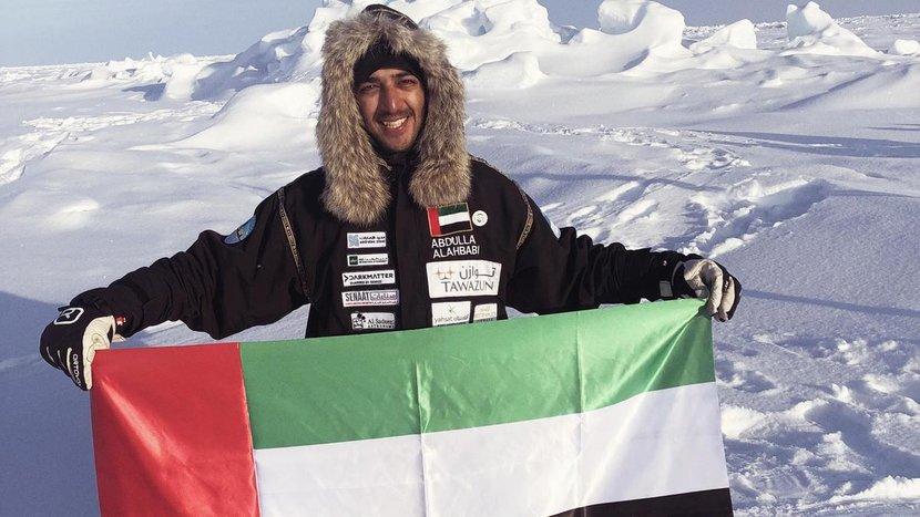 UAE, Emirati, Adventurer, South Pole, North Pole