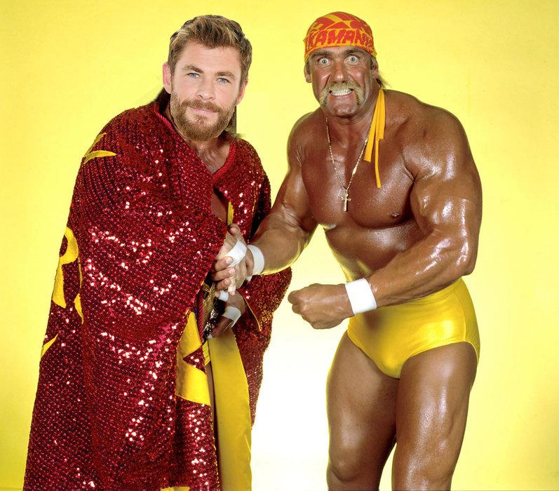 Hulk Hogan, Chris Hemsworth, Film