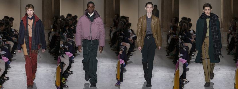 Salvatore ferragamo, Paul Andrew, Milan fashion week