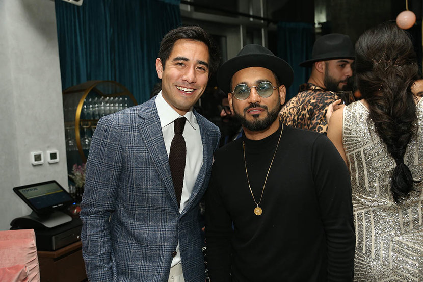 Zach King and DJ Bliss