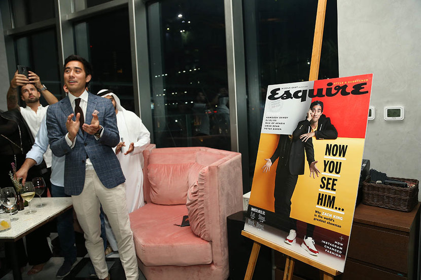 Esquire, Influencer, Zach King, Party, Kizmet, Esquire influencer issue, Esquire Middle East