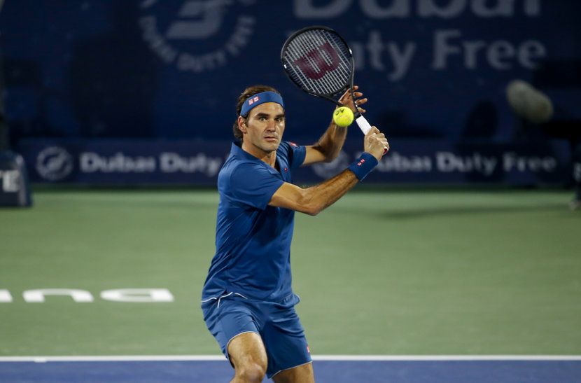 Roger Federer, Novak Djokovic, Tennis, Dubai Duty Free Tennis Championships