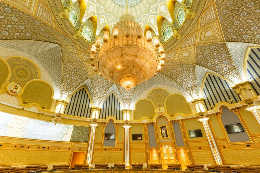 In Pictures Abu Dhabi Presidential Palace Esquire Middle East