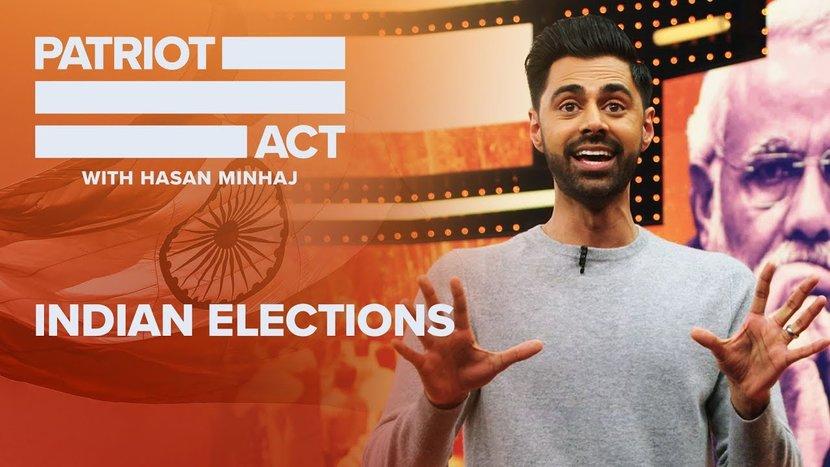 Hasan Minhaj, Patriot's Act, Netflix