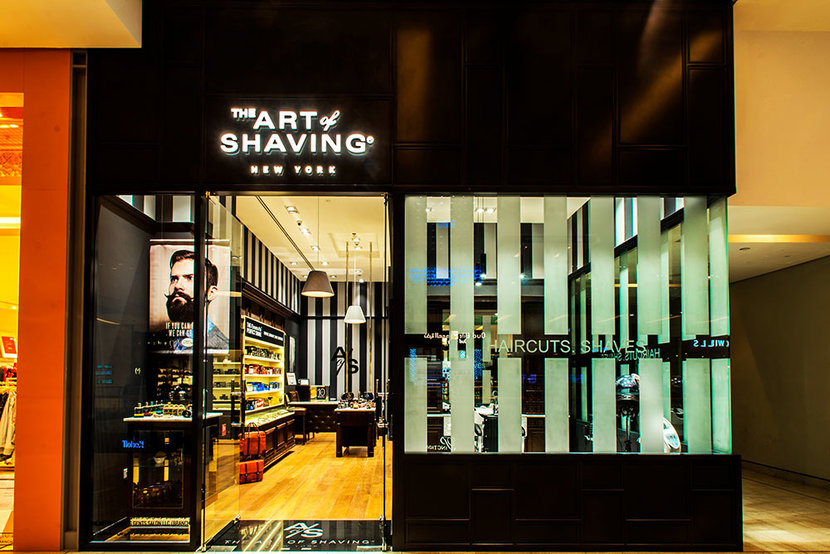The Art of Shaving, Dubai Mall