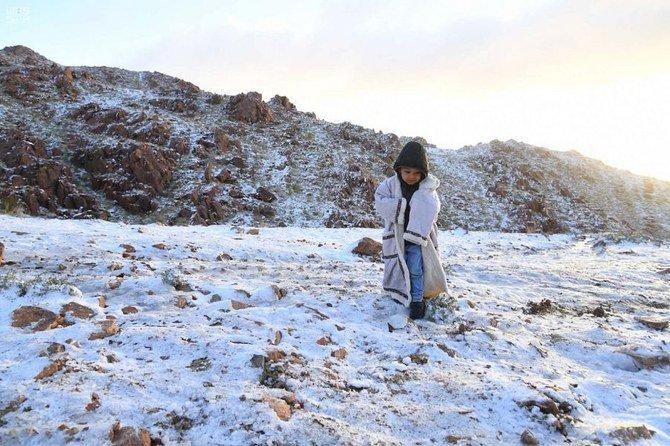 Saudi Arabia, Snow