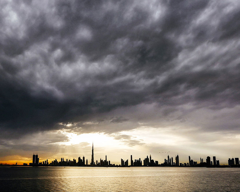 Rain in dubai, Dubai, Weather