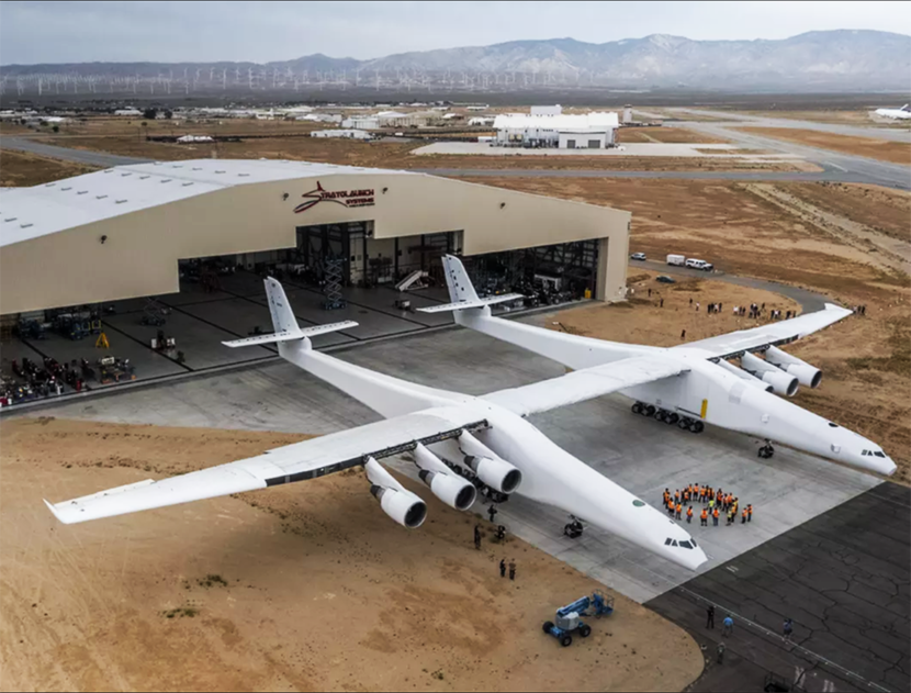 Stratolaunch, Space