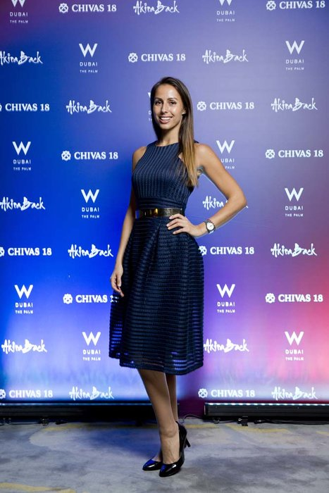 Zsofia Lejtenyi  Chivas 18 Event  Esquire  W Hotel Plam   Dubai   photo by Ajith Narendra  ITP Images17042019_Chivas 18 Event ESQ