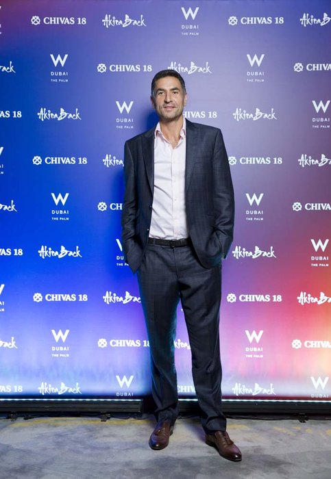 Idriss al Rifai   Chivas 18 Event  Esquire  W Hotel Plam   Dubai   photo by Ajith Narendra  ITP Images17042019_Chivas 18 Event ESQ