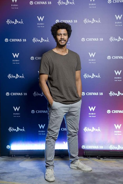 Devin Peters   Chivas 18 Event  Esquire  W Hotel Plam   Dubai   photo by Ajith Narendra  ITP Images17042019_Chivas 18 Event ESQ