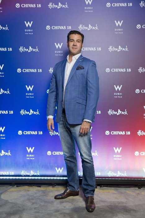 Juan Perez     Chivas 18 Event  Esquire  W Hotel Plam   Dubai   photo by Ajith Narendra  ITP Images17042019_Chivas 18 Event ESQ