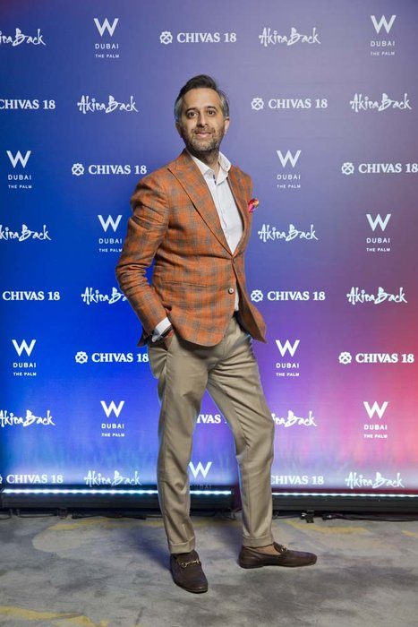 Girish Daryani   Chivas 18 Event  Esquire  W Hotel Plam   Dubai   photo by Ajith Narendra  ITP Images17042019_Chivas 18 Event ESQ