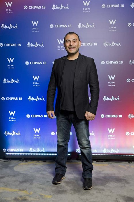 Amine Jabbour  Chivas 18 Event  Esquire  W Hotel Plam   Dubai   photo by Ajith Narendra  ITP Images 17042019_Chivas 18 Event ESQ