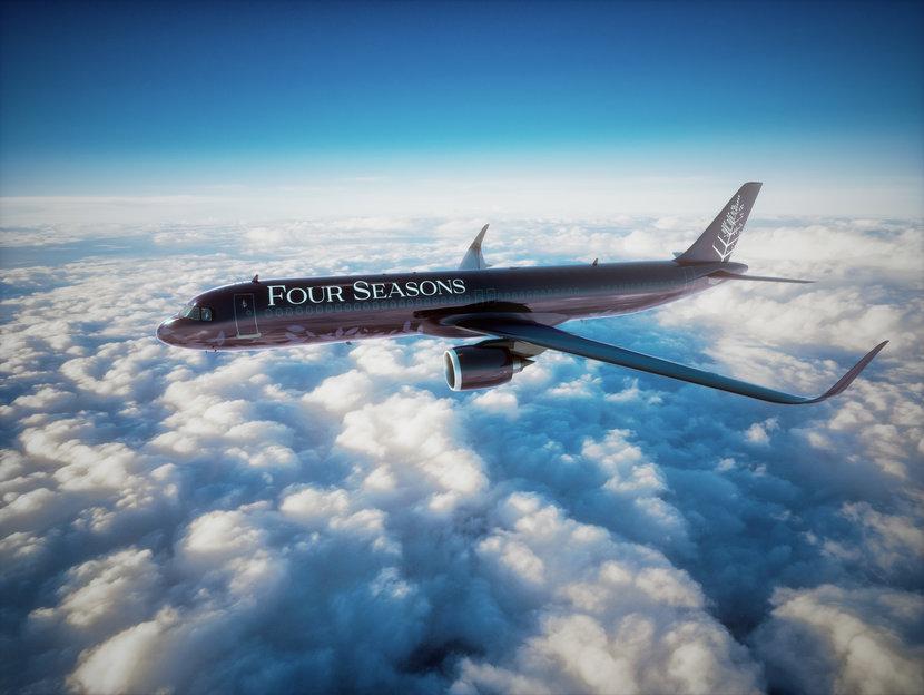 Four Seasons, Private Jet