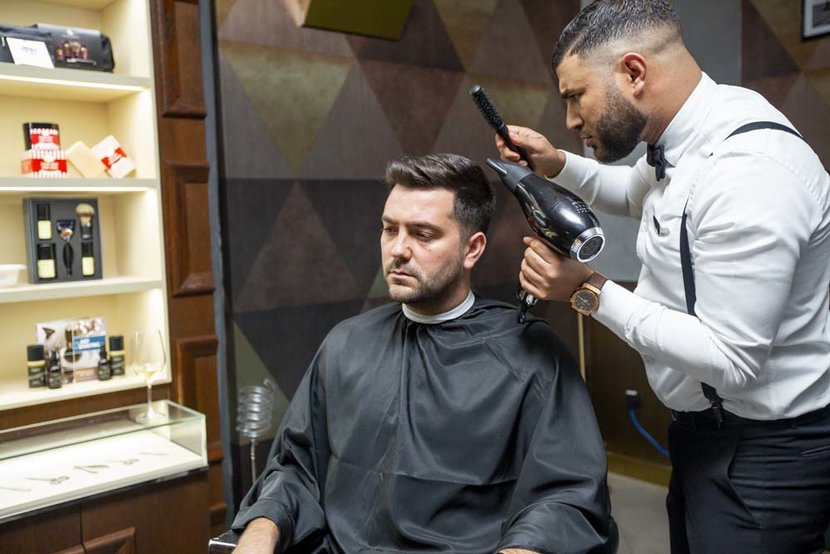 The Art of Shaving Green Room Citywalk The Art of Shaving The Art of Shaving Dubai  United Arab Emirates 4212019 Photo by Jessica SamsonITP ImagesThe Art of Shaving