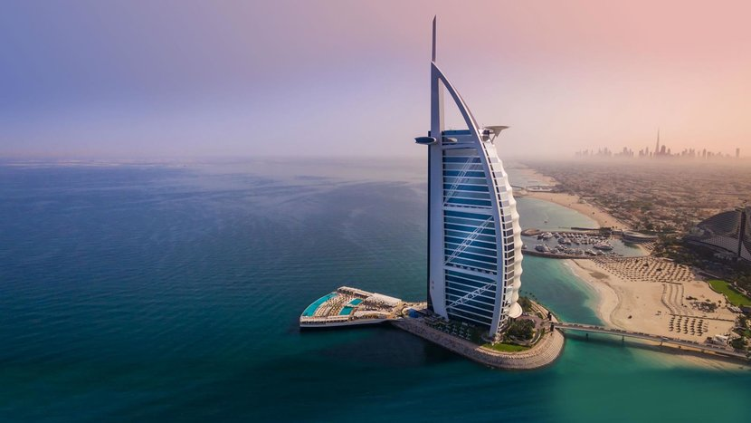 Evergreen, Burj al arab, Dubai