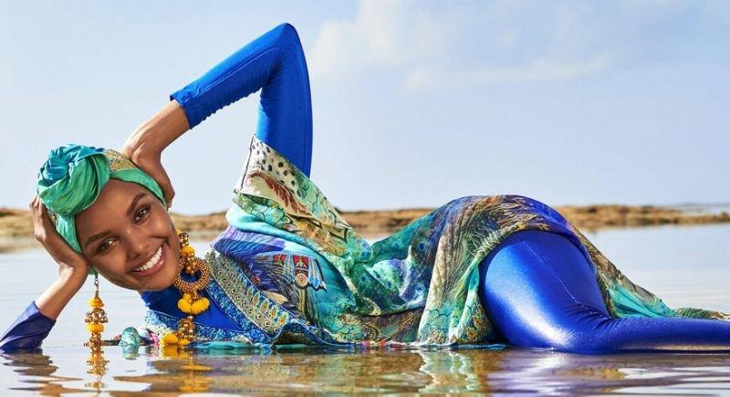 Halima Aden, Burkini, Sports Illustrated, Hijab