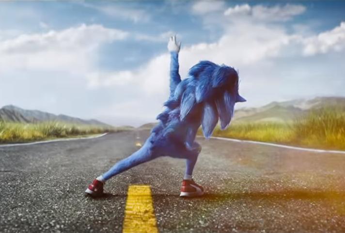 Sonic The Hedgehog, Jim Carey, James Marsden