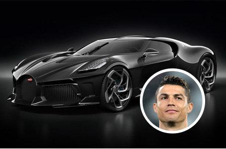 Cristiano ronaldo, Bugatti, La Voiture Noire