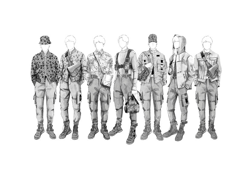 BTS, Dior, Dior Man, Dior Homme, Kim Jones