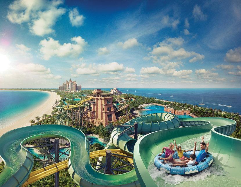 Atlantis the palm, Aquaventure, Waterparks