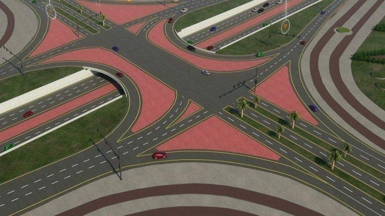 Sheikh Mohammad Bin Rashid Al Maktoum, Dubai, Sharjah, Roads