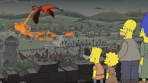 Simpsons, Game of thrones