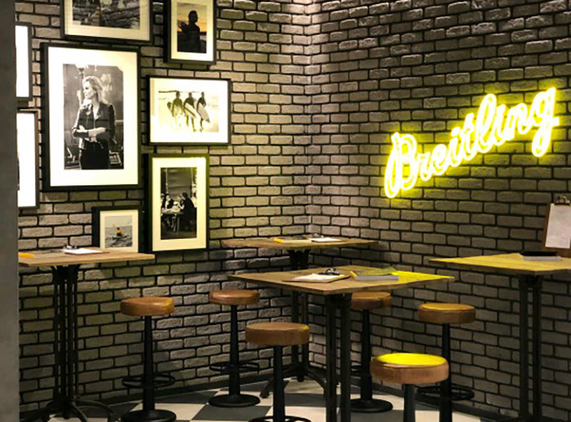Breitling, Breitling Boutiques, Coffee