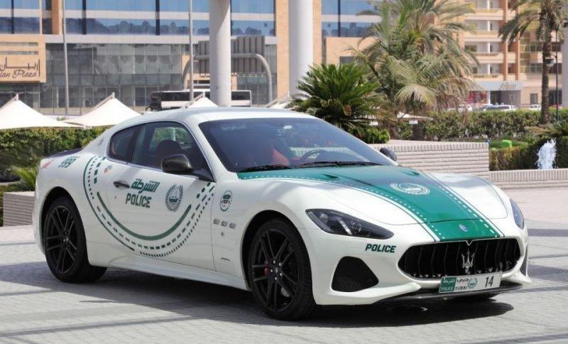 Dubai police, Supercar, Maserati