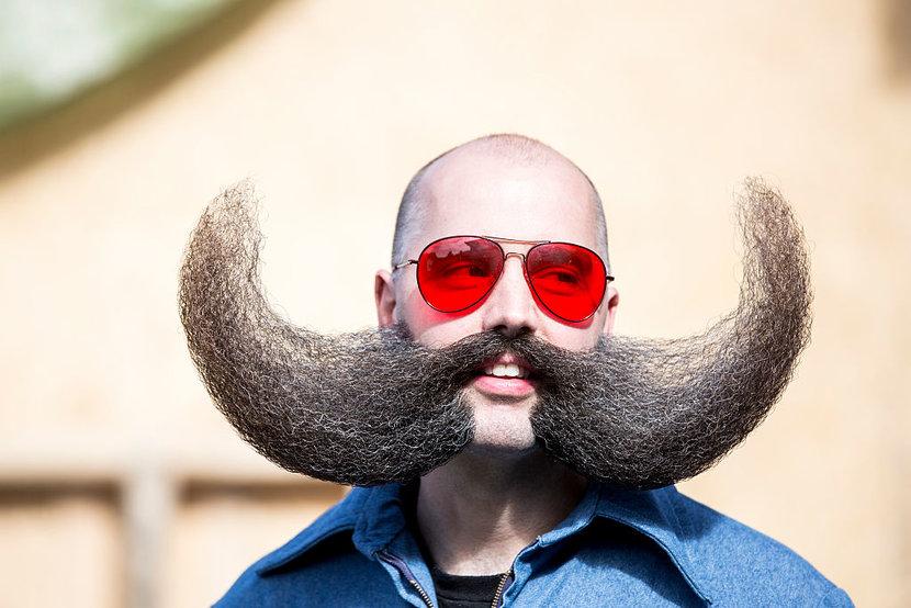 World Beard Championships, Beards, Moustache