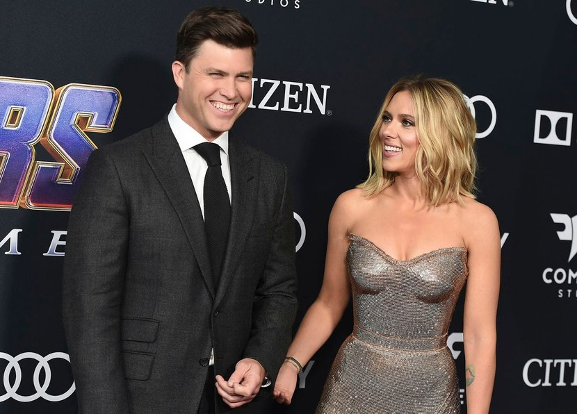 Scarlett Johansson Is Getting Married To Colin Jost Esquire Middle East