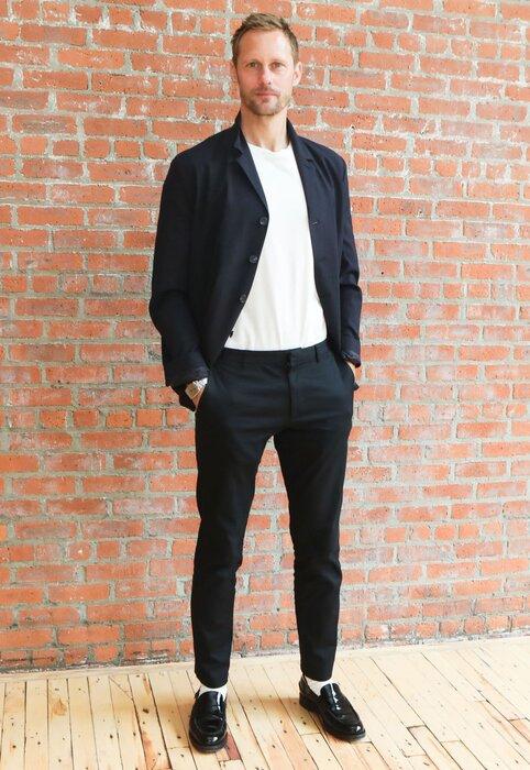 Alexander Skarsgård, COS, Summer style