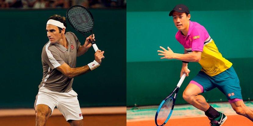 Roger Federer, Kei Nishikori, Tennis, French Open
