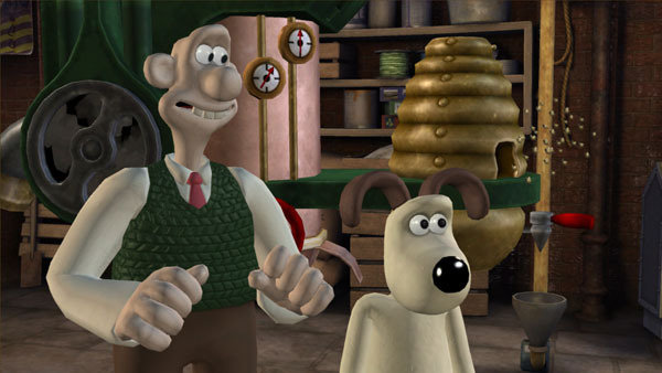Wallace & Gromit, Nick Park, Television, Animation