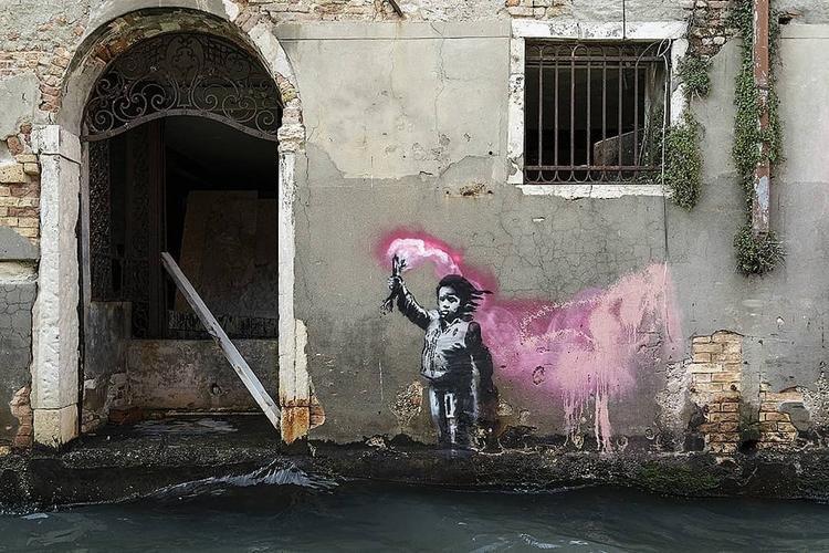 Banksy, Art, Street art