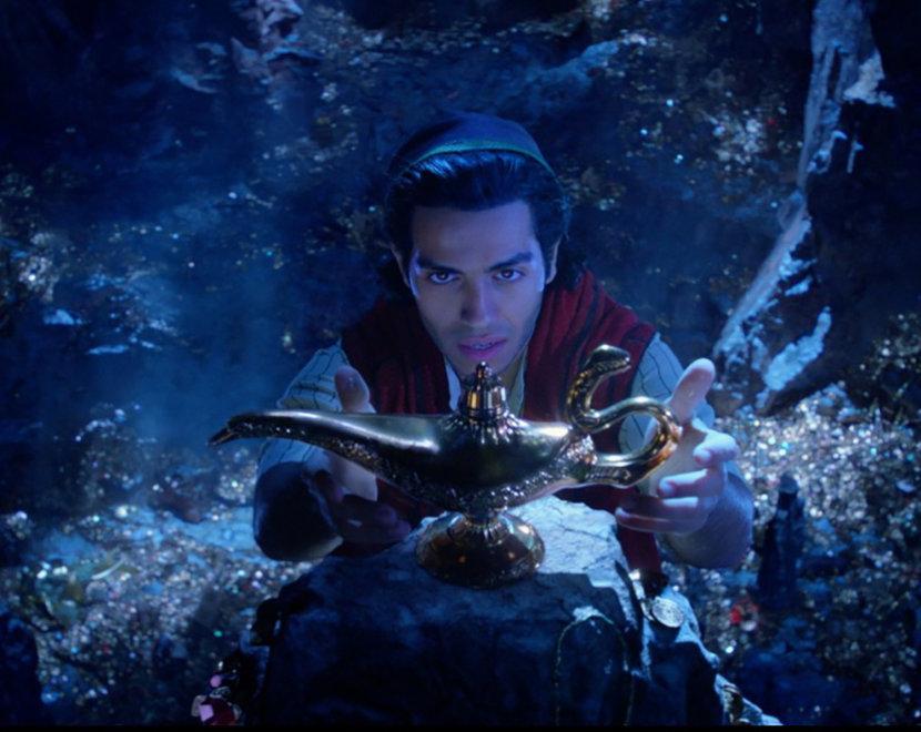 Mena Massoud, Aladdin, Cinema