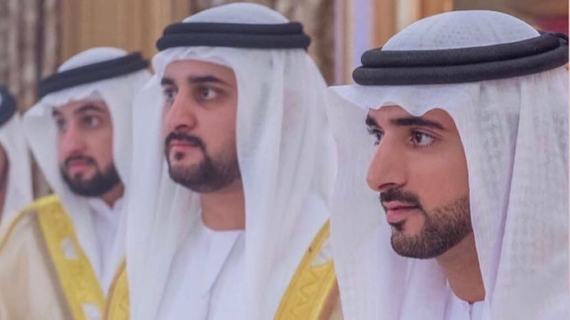#dubai, Sheikh Hamdan, Royal Wedding