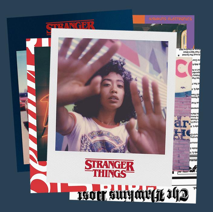Stranger Things, Polaroid, Camera