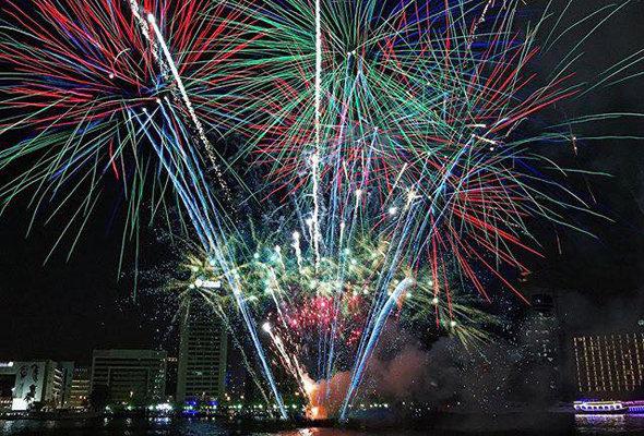 Eid al fitr, Ramadan, Fireworks
