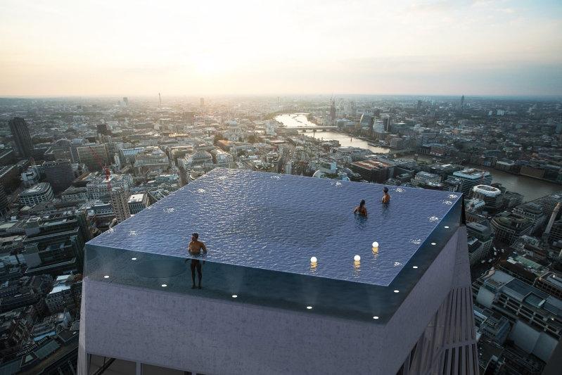London, Infinity pool