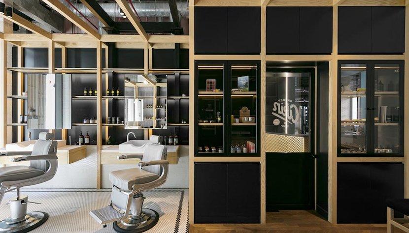 Akin, Akin barbershop, Dubai, Barbershop