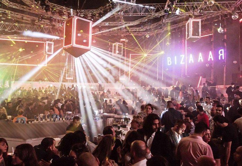 White Jeddah, Saudi Arabia, Night club