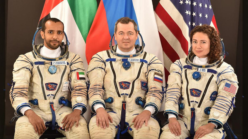 Space, International space station, UAE Space Programme