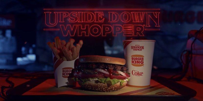 Burger King, Stranger Things, Netflix, Burgers