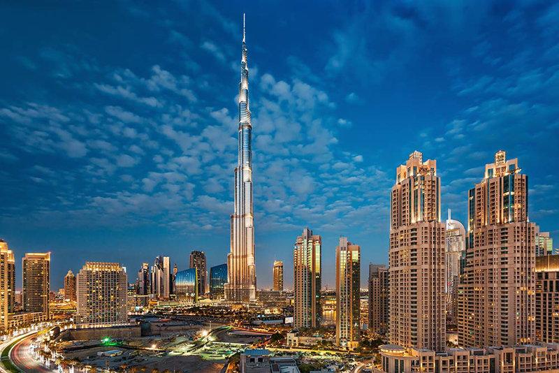 Burj Khalifa, Dubai, Buildings