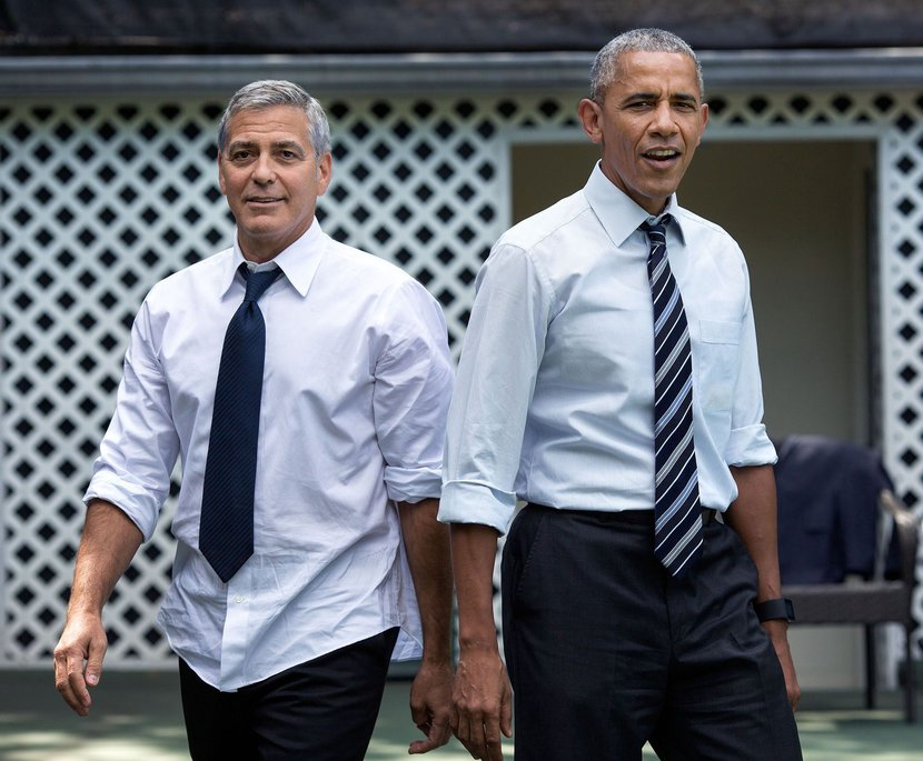 George Clooney, Barack obama, Italy, Lake Como