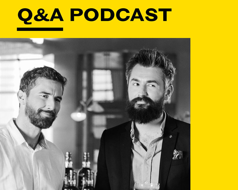 Esquire Podcast, Esquire Q+A, Robbie Greenfield, Chris McHardy