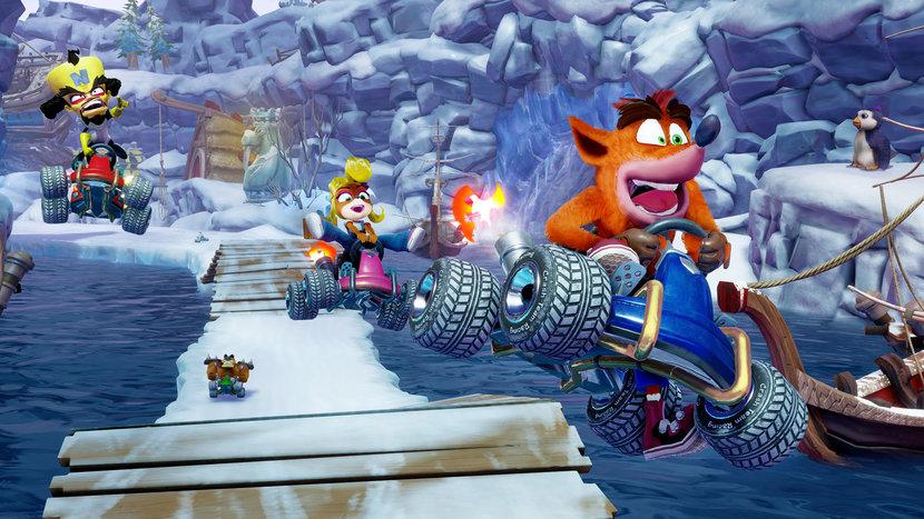 Crash Bandicoot, Crash Team Racing, Video games